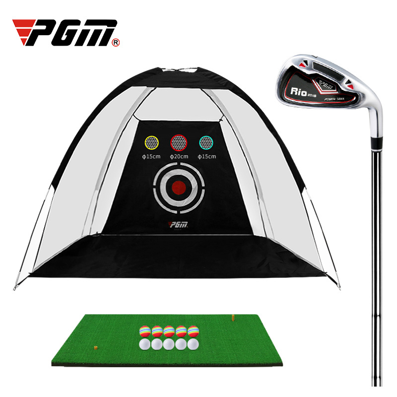 Pgm Manufacturer's Golf Practice Net Indoor Golf Supplies Golf Hitting Cage Indoor Golf