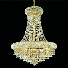 American Crystal Chandeliers LED K9 Crystal Chandelier Lights Fixture Luxury Hotel Lobby Hall Villa Parlor Home Indoor Lighting