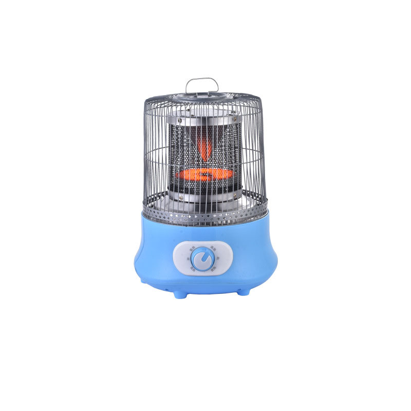 1000W Electric Heating Film Heater Carbon Crystal Bird Cage Knob Type Electric Heating Household Heater