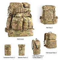 Military Surplus FILBE Rucksack Army Tactical Backpack Full System Multicam