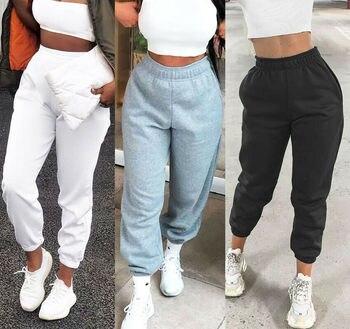 3 colors women casual sweatpants sport running jogging pants