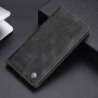 Funda de cuero con tapa para Xiaomi Mi Poco X3 nfc Pro M3 A1 A2 A3 5 6 8 9 SE Lite, billetera de lujo para Mi 11 10T 10i Mix 2 2s 3 Play