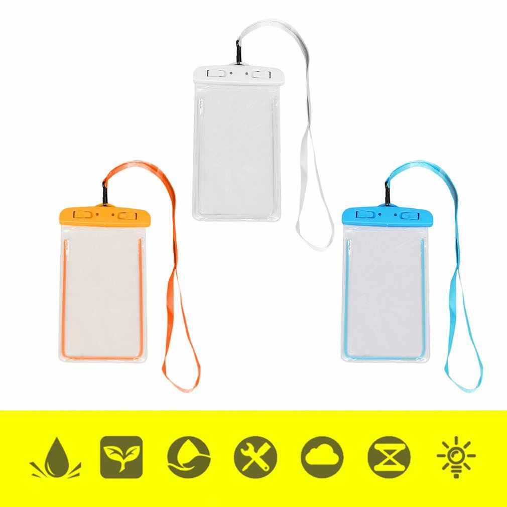 Waterdichte PVC Zwemmen Zak Mobiele Telefoon Case Cover Dry Pouch Universele Duiken Drifting Riving Trekking Tassen Nieuwe