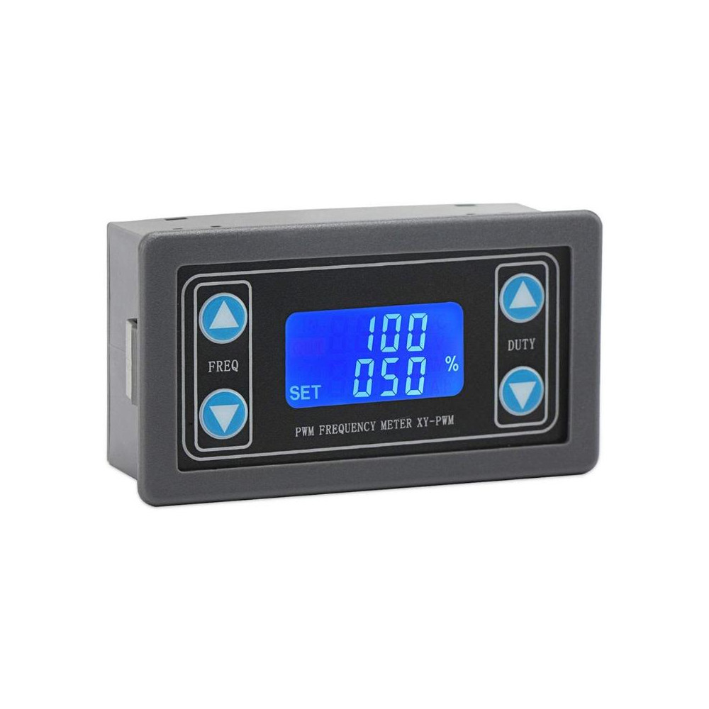 LCD Digital Display PWM Pulse Frequency Duty Ratio 1HZ~150KHZ Cycle Adjustable Square Wave Rectangular Wave Signal Generator
