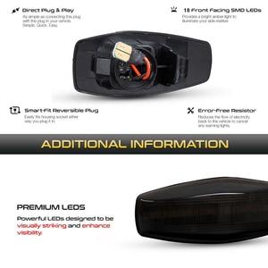 Image 4 - 2 adet Hyundai akan su göstergesi LED yan işaretleyici dönüş sinyal ışığı Accent LC Trajet Coupe Excel 2 Verna 2 I10 Getz