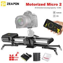 Zeapon Электрический микро 2 портативная камера направляющая из алюминиевого сплава направляющая для Easylock 2 тонкое крепление с одним зеркалом