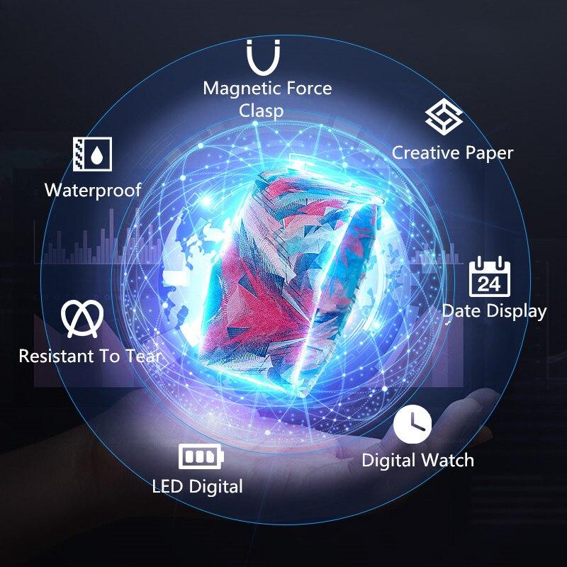 2020 New Fashion LED Electronic Watch Waterproof Digital Watches Ladies Men's Smart Clock Gifts Reloj Inteligente Mujer Relogio