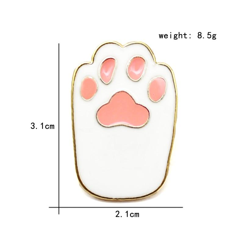 胸针猫爪6