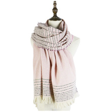 accesorios mujer soft winter shawls stole wraps women long scarfs newest fashion polyester scarf