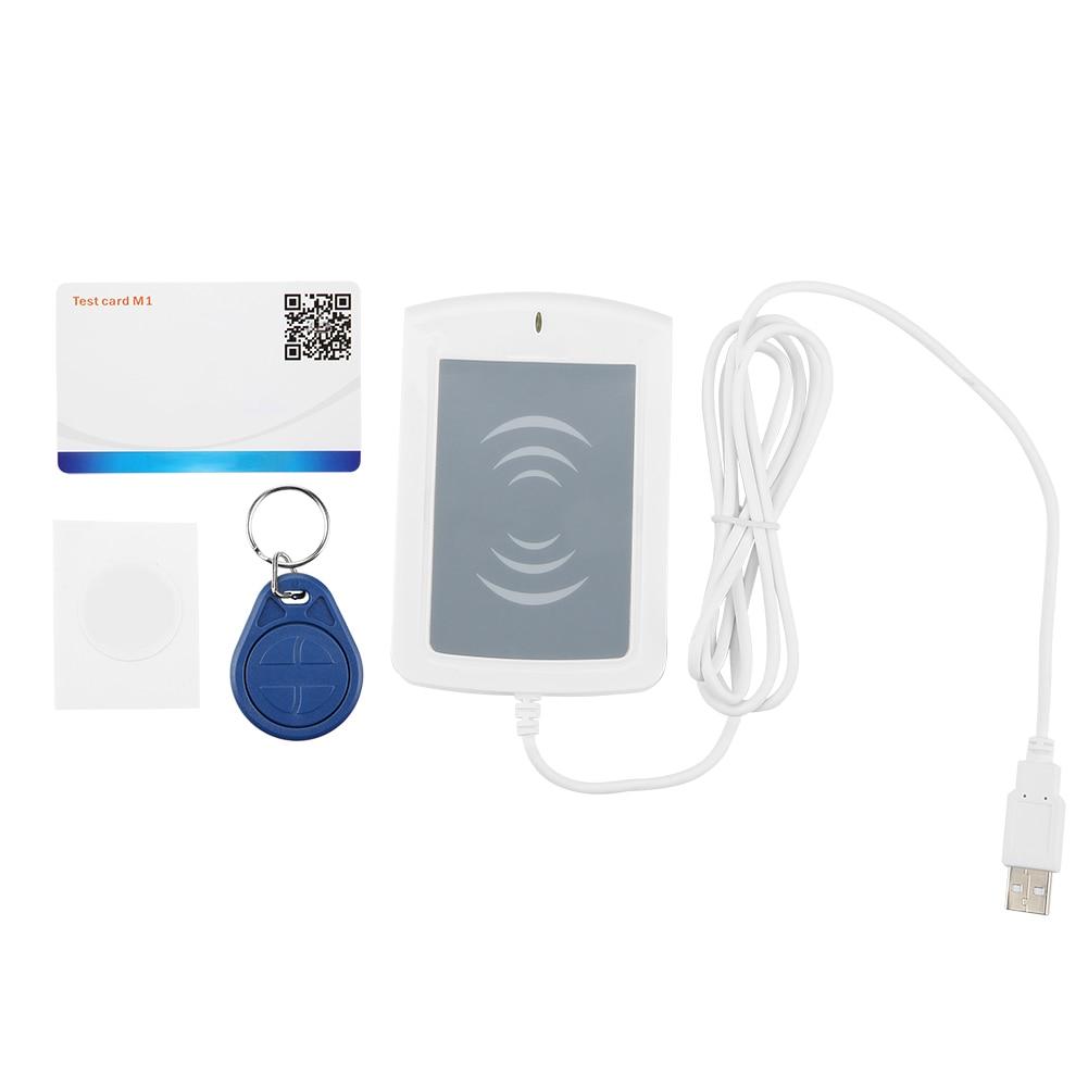RFID Smart Card Reader Writer USB S50 13.56Mhz SDK Program USB SDK Reader V4.2 Built-In Transceiver Antenna RFID Reader