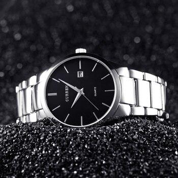 CURREN Men's Luxury Display Date Waterproof Quartz Watches 4