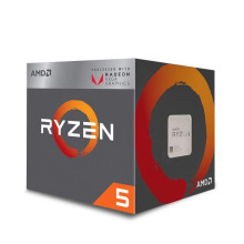 AMD Ryzen 5 3400G R5 3400G 3.7 GHz Quad-Core Eight-Thread 65W CPU Processor L3=4M YD3400C5M4MFH Socket AM4 New and have fan