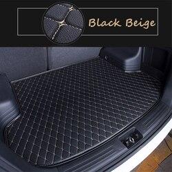 5 kolorów mata bagażnika samochodowego dla Chevrolet Captvia (2010 2019) 2011 12 13 2019 Car Styling wkładka pod ładunek samochodowy wyposażenie wnętrz dywan na