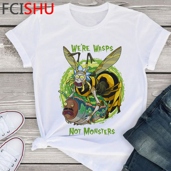 Rick and Morty Season 4 Harajuku T-shirt Men Funny Cartoon Ricky Morty T Shirt Summer Anime Tshirt Fashion Casual Top Tees Male 2