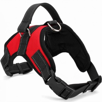 125/5000 Adjustable Nylon Dog Harness Reflective Dog Collar Personalized Dog Harness and Leash Set Small Medium Large Dog Harne 1