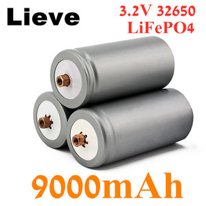 1-10PCS Brand used 32650 9000mAh 3.2V lifepo4 Rechargeable Battery Professional Lithium Iron Phosphate Power Battery with screw