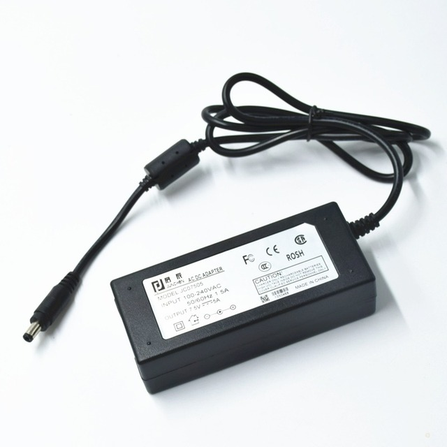 7.5V5A Adapter Switching DC Power Supply Energy-saving Application In LED Digital Optoelectronic Products