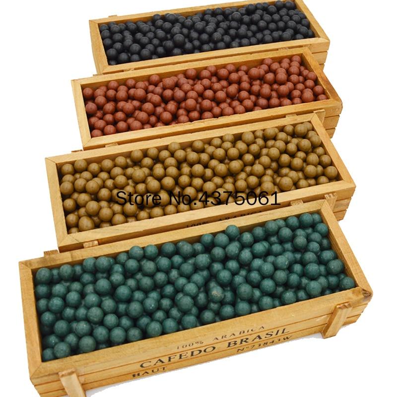 100PCS/lot Hunting Slingshot Ammunition Ball Slingshot Beads Bearing Of Mud Beads Ammo Solid Drawing-board Ball Clay Mud Ball