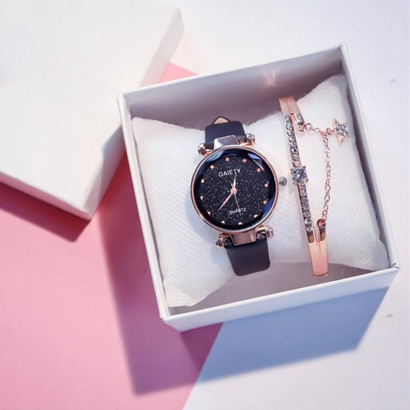 Watches Women Top Brand Fashion Ladies Watches Leather Women Sports Analog Quartz Wrist Watch Fashion Clock Relogio Feminino