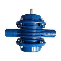 Convenient Self Priming Pump Blue Electric Drill Accessories Household Garden Home Water Pump Metal DIY Hand Drill Pump Tools