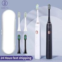 Xiaomi-cepillo de dientes eléctrico sónico para niños, boquillas ultrasónico para cepillos de dientes, cabezales soocas X3U