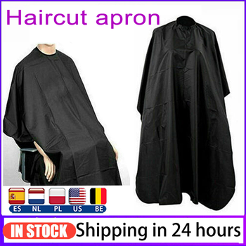 Professional Hair Cutting Salon Barber Hairdressing Unisex Gown Cape Shave Apron Hair Cutting Haircut Hairdressing Cape TSLM1 unisex adult black blue hairdressing cape hair cutting cape gown haircut clothes with play phone view window salon apron