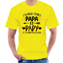 T-Shirt jay two Titres Papa Et Papy, @ 070969