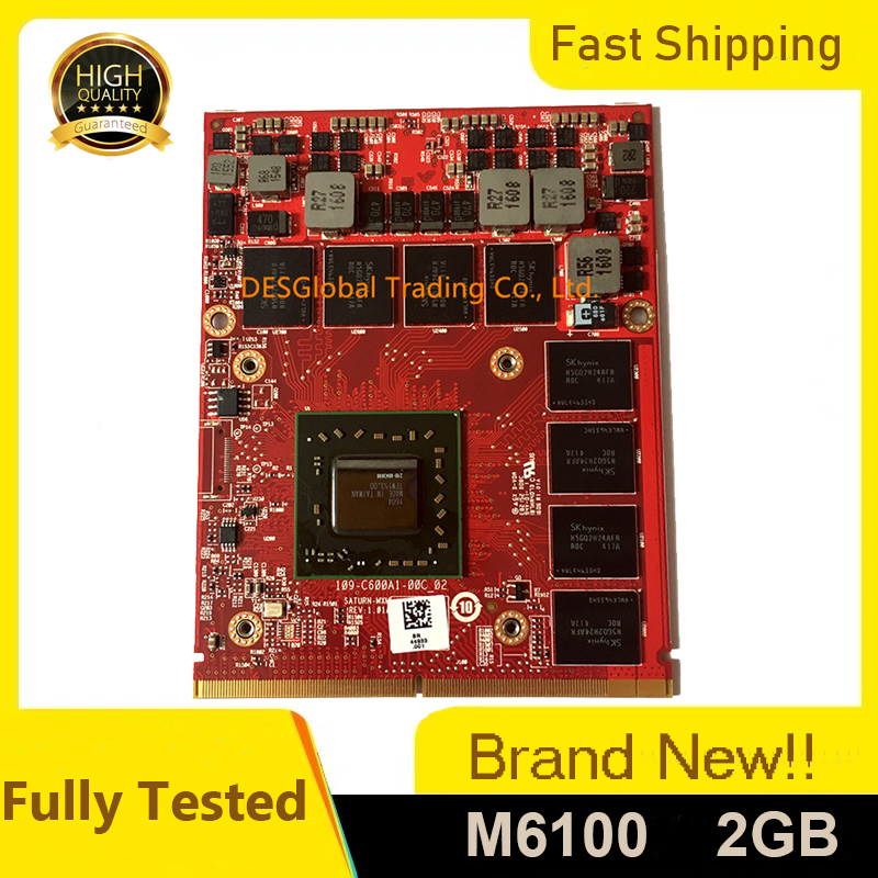 Brand New M6100 Video Graphics VGA Card For Dell Precision M6800 M6700 M6600 FirePro K5WCN 0K5WCN CN-0K5WCN Fully Tested