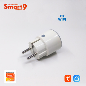"Image 3 - Smart9 מיני Wifi חכם תקע, 16A עם מדידת כוח Max. 3680 W, FR האיחוד האירופי ארה""ב סוג חכם חיים APP שלט, מופעל על ידי TuYa"