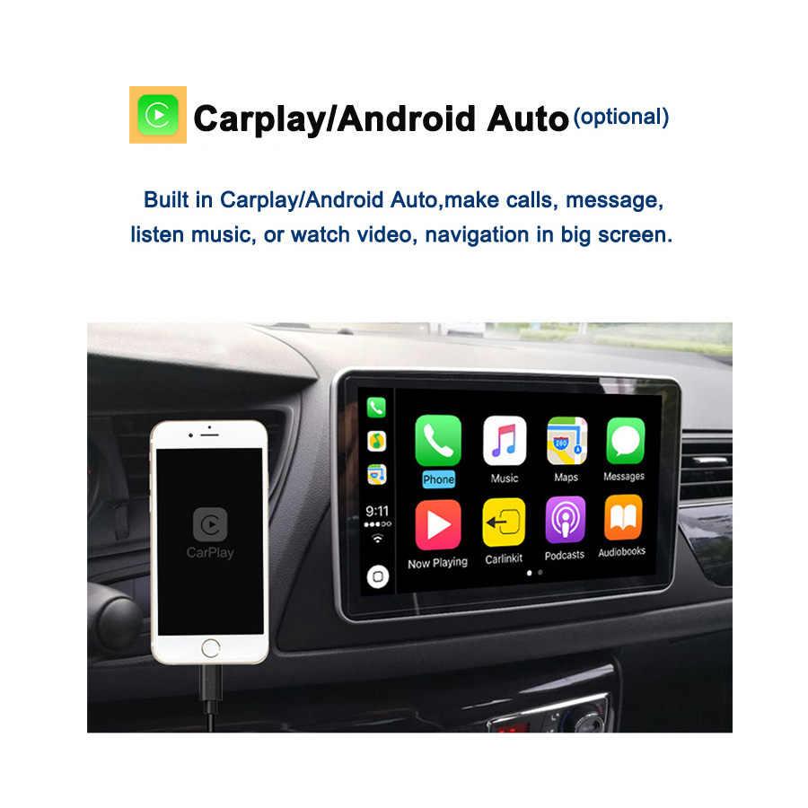 Tesla DSP HDMI IPS Carplay Auto DVD Player PX6 Android 9,0 4G + 64GB GPS Radio Wifi Bluetooth 5,0 für Nissan Toyota universal 2Din