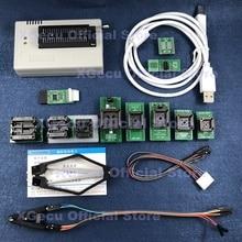 Black ZIF socket V10.27 XGecu TL866II Plus USB Programmer 15000+IC SPI Flash NAND EEPROM MCU PIC AVR+ 12PCS ADAPTER+IC EXTRACTOR