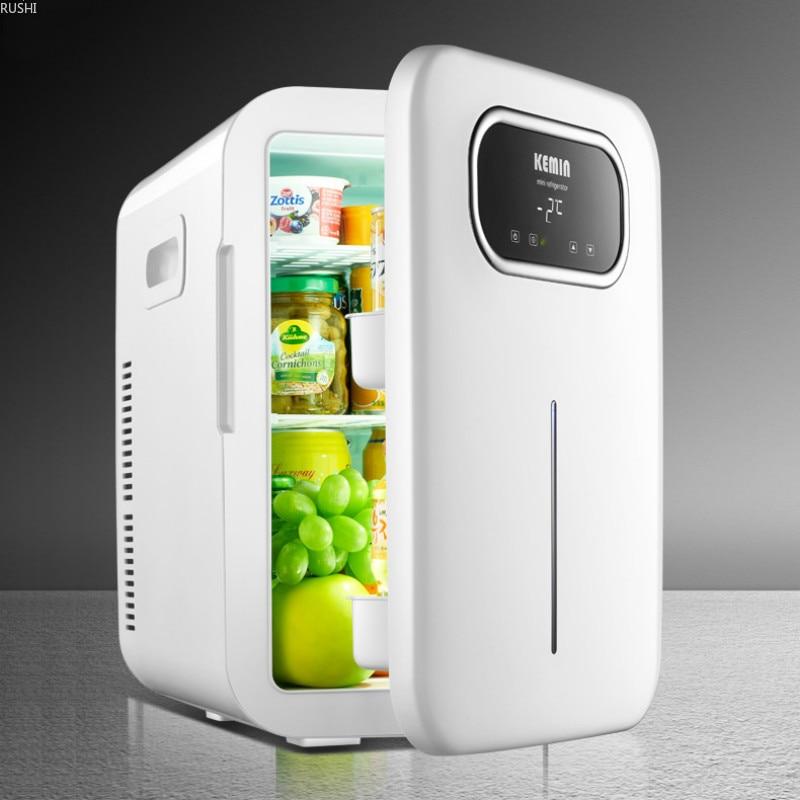 Portable Fridge Camping  Mini Refrigerator Compressor  Portable Mini Fridge Cosmetics Cooler Box Compact Small Refrigerator
