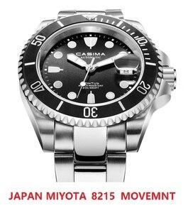 CASIMA Japan 8215 Movt Automatic Men`s Watch Waterproof 200 M Wristwatch Man Mechanical Watches Sapphire Glass Relogio Masculino