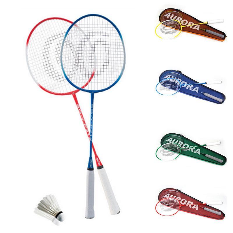 Lightweight Racket Badminton Racket Nylon Sporting Goods Sports Toys Game Sports Racket Professional School Movement Ferroalloy