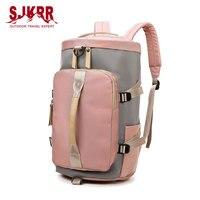 S.IKRR Wasserdichte Oxford Sport Rucksack Outdoor Training Fitness Tasche Große Reisetaschen Für Frauen Multifunktions Handtasche Designer
