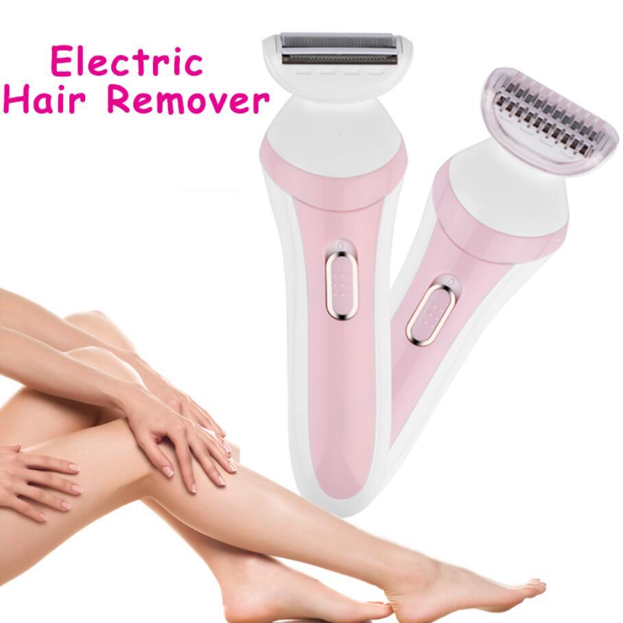 Lady Shaver Hair Remover Electric Epilator Shaving Hair Removal Female Body Bikini Trimmer Depilation Machine Battery Power