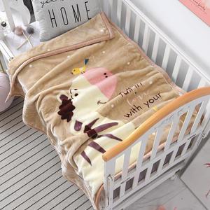 105x130 м осенне-зимнее одеяло с героями мультфильмов, теплое плюшевое одеяло с аниме, детская простыня