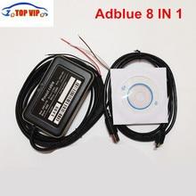Adblue 8 в 1 Adblue эмуляция 8в1 с датчиком NOx Adblue Эмулятор 8 в 1 поддержка Евро 4 и 5 и 6 Adblue 8в1 для 8 типов грузовиков