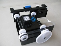 DX5/DX7 single head capping assembly for inkjet printer
