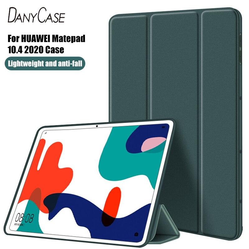 Tablet Case For Huawei Matepad 10.4 2020 BAH3-W09 BAH3-AL00 Tablet PU Case Protective Cover Huawei Tablet Protective Shell