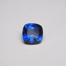 9*9mm 5 sztuka worek królewski niebieski szafir poduszka Cut 35 # korundowy kamień szafirowy do biżuterii tanie tanio meisidian GDTC SAPPHIRE Grzywny