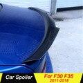 Для BMW 3 серии F30 F35 углеродное волокно черный задний багажник спойлер крылья для BMW F30 F35 2011-2018 320i 325i 328i 335i