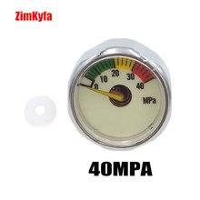 PCP Manometre Manometro 5/30/40mpa Luminoso Mini Micro Manometro di Alta Pressione M10 * 1