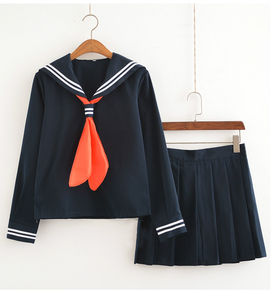 Image 2 - My Boko No Hero Academia Himiko Toga Costume Cardigan Sweater Sailor JK Uniform Cardigan Cosplay