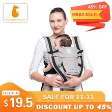 Kangarouse katoen ergonomische draagzak voor pasgeboren om 36 maand KG 100