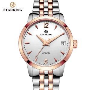 Image 3 - STARKING Watch Women Automatic Self wind Analog Ladies Waterproof Stainless Steel Wristwatch 5atm Female Relogio Feminino AL0194