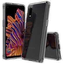 Funda rígida de acrílico para teléfono móvil Samsung, cubierta de cristal transparente para Samsung Galaxy XCover Pro X, 4 4S, 4S