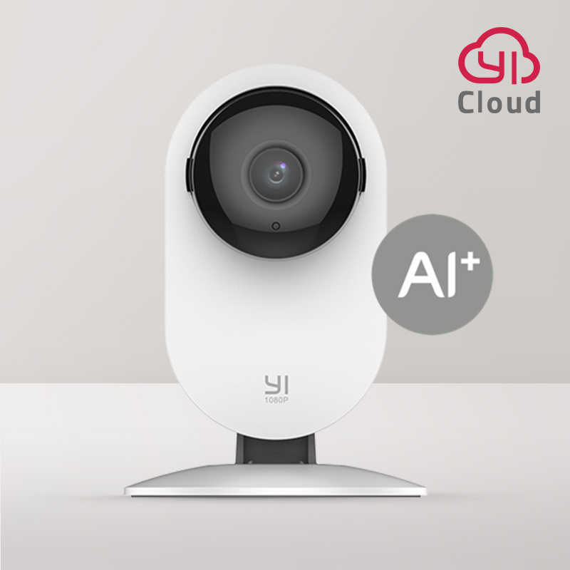 YI Home 1080P AI WiFi IPกล้องHuman Detection Night Visionการแจ้งเตือนกิจกรรมสำหรับHome PET Security CAM CloudและSD CAM