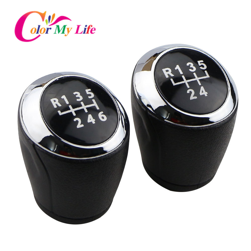 Color My Life Manual 5 6 Speed Gear Shift Knob Gear Head Knobs for Chevrolet Cruze Sedan Hatchback 2008 - 2014 Replacement Parts