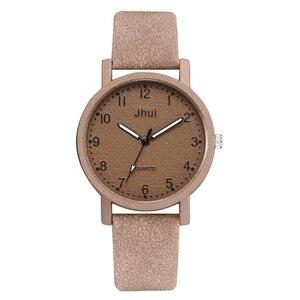 Image 5 - למעלה מותג נשים שעונים אופנה עור שעון יד נשים שעונים גבירותיי שעון שעון מתנה zegarek damski Relojes Mujer 2019